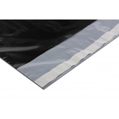 Foliopaki kurierskie 430x600+100mm 43x60+10cm 0,06 czarne 100szt