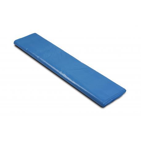 Worki na śmieci - papier 700x1100mm 70x110cm 0,04 niebieskie 120L 25szt