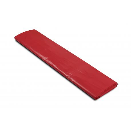 Worki na śmieci - aluminium 700x1100mm 70x110cm 0,04 czerwone 120L 25szt