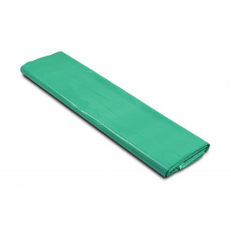 Worki na śmieci - szkło 700x1100mm 70x110cm 0,04 zielone 120L 25szt