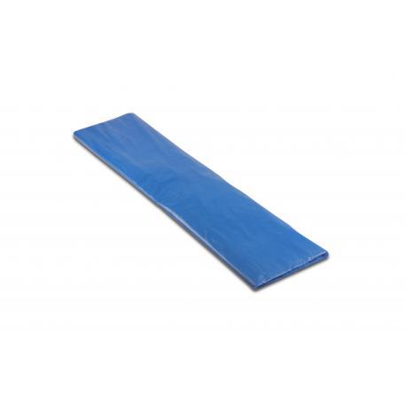 Worki na śmieci - papier 700x1100mm 70x110cm 0,033 HDPE niebieskie 120L 25szt