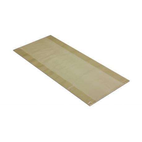 Worki foliowe na pellet 35+2x5/75cm 45x75cm 0,08 reg słomka 50szt