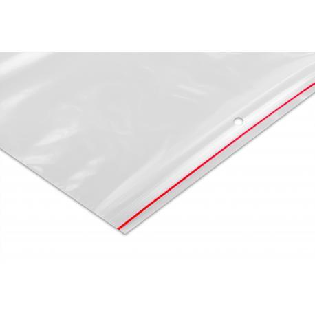 Woreczki strunowe LDPE 220x280mm 22x28cm 0,045 100 / 1000szt