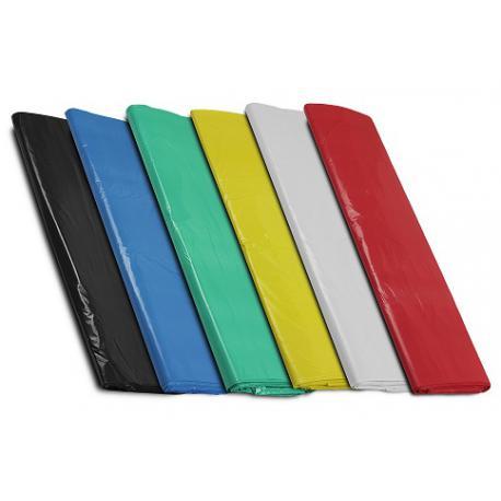Worki foliowe regranulat słomka kolorowe 500x650 mm 50x65 cm 0,08 1250 szt