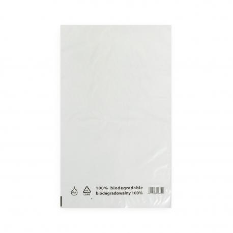 Torebki foliowe ekologiczne BIO EKO ECO 500x800mm 50x80cm 0,03 LDPE 50 / 100 / 500 szt