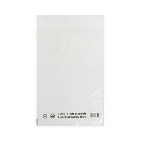 Torebki foliowe ekologiczne BIO EKO ECO 470x550+50mm 47x55+5cm 0,03 LDPE 50 / 100 / 500 szt