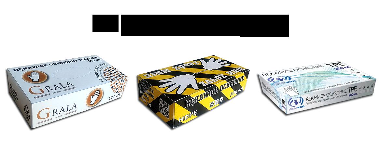 Rękawice ochronne w pudełku